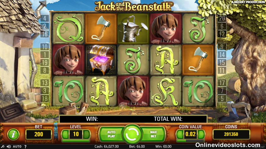 jack and the beanstalk basisspel